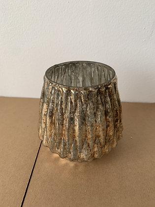 Mercury Glass Pineapple Vase