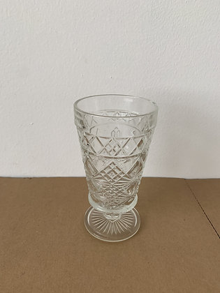"3"" Cut Crystal Glass Vase"