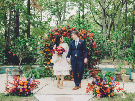 Sumita + Chris - Backyard Wedding