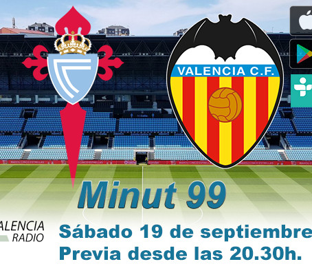 Previa RC Celta vs. Valencia CF