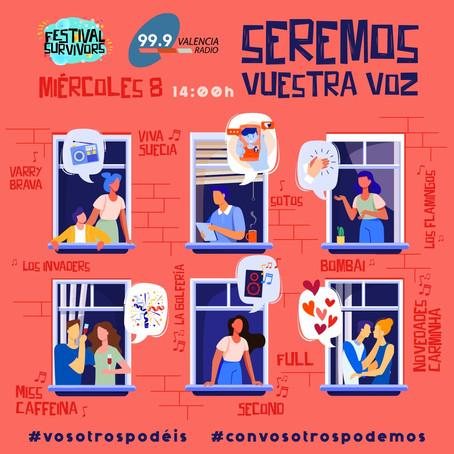 Especial 'SEREMOS VUESTRA VOZ' de Festival Survivors