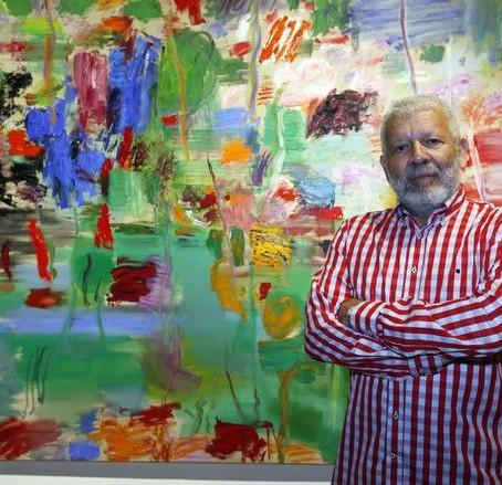 El pintor Willy Ramos en Abierto a Mediodía con Ramón Palomar