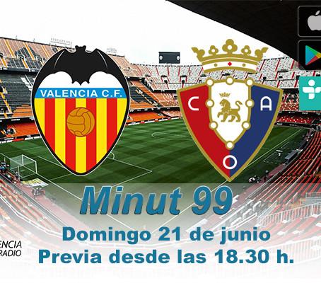 Previa: Valencia CF vs. C.A. Osasuna