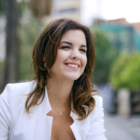 Sandra Gómez, vicealcaldesa de Valencia, en Sociedad Valenciana