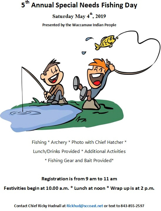 5th Annual Special Needs Fishing Day