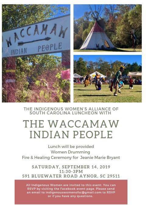 Announcement: Indigenous Women's Alliance Luncheon