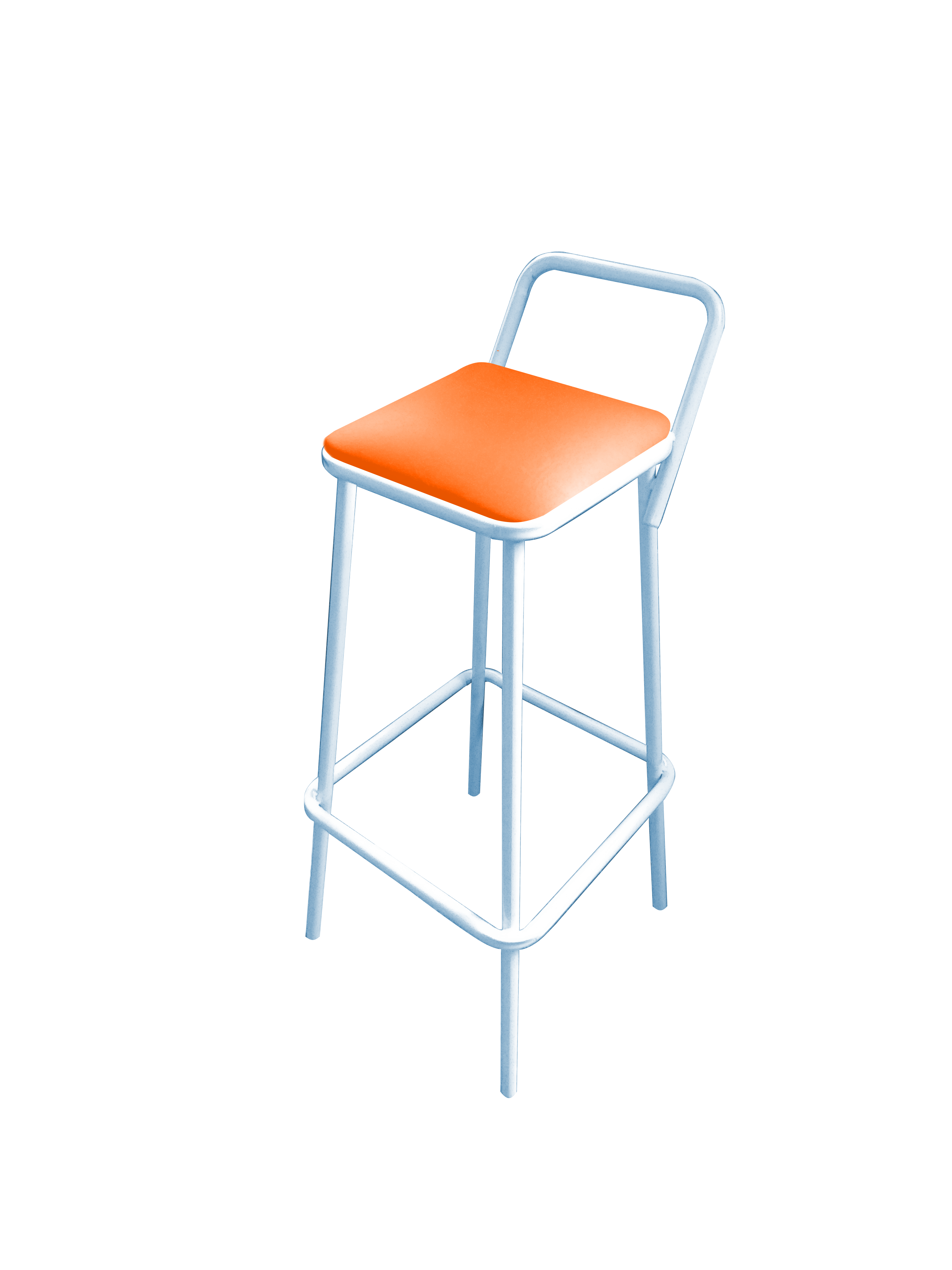 Quadrada laranja