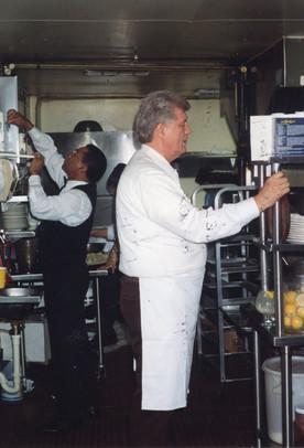 In the Lemmon Avenue kitchen (now Bob's).jpg