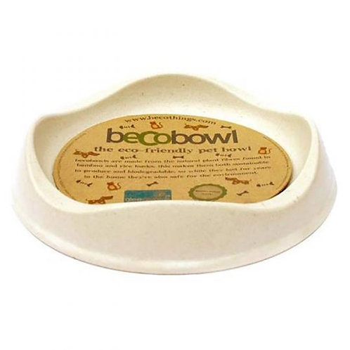 Whisker Happy - BecoBowl - Natural Bamboo