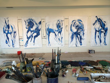 Painting Horses