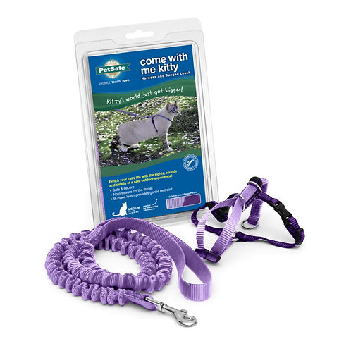 Med & Lg Lilac - Come With Me Kitty Cat Harness