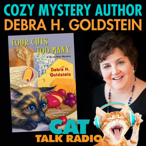 Cats, Mystery & More with Author Debra H. Goldstein