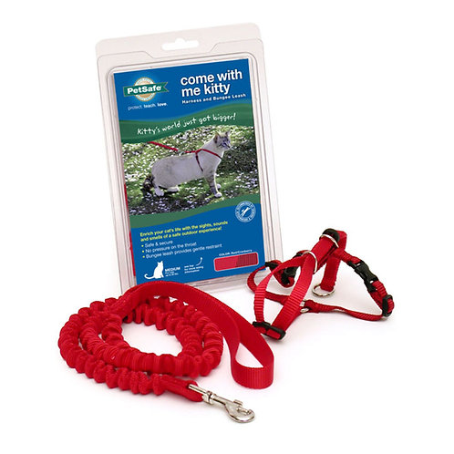 Lg Red - Come With Me Kitty Cat Harness