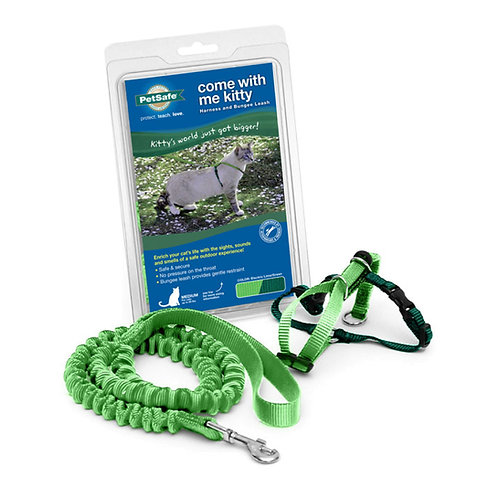 Lg Electric Lime - Come With Me Kitty Cat Harness