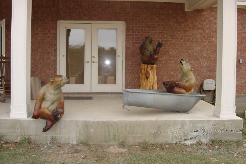 Bears in Tubs