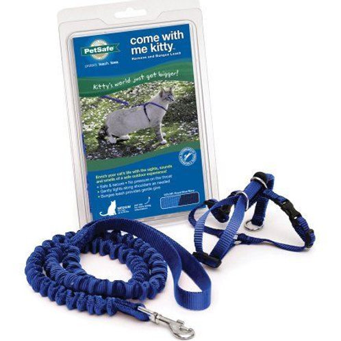 Med & Lg Royal Blue - Come With Me Kitty Cat Harness