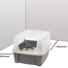 Attractive Litter Box - Step 4: PLACEMENT