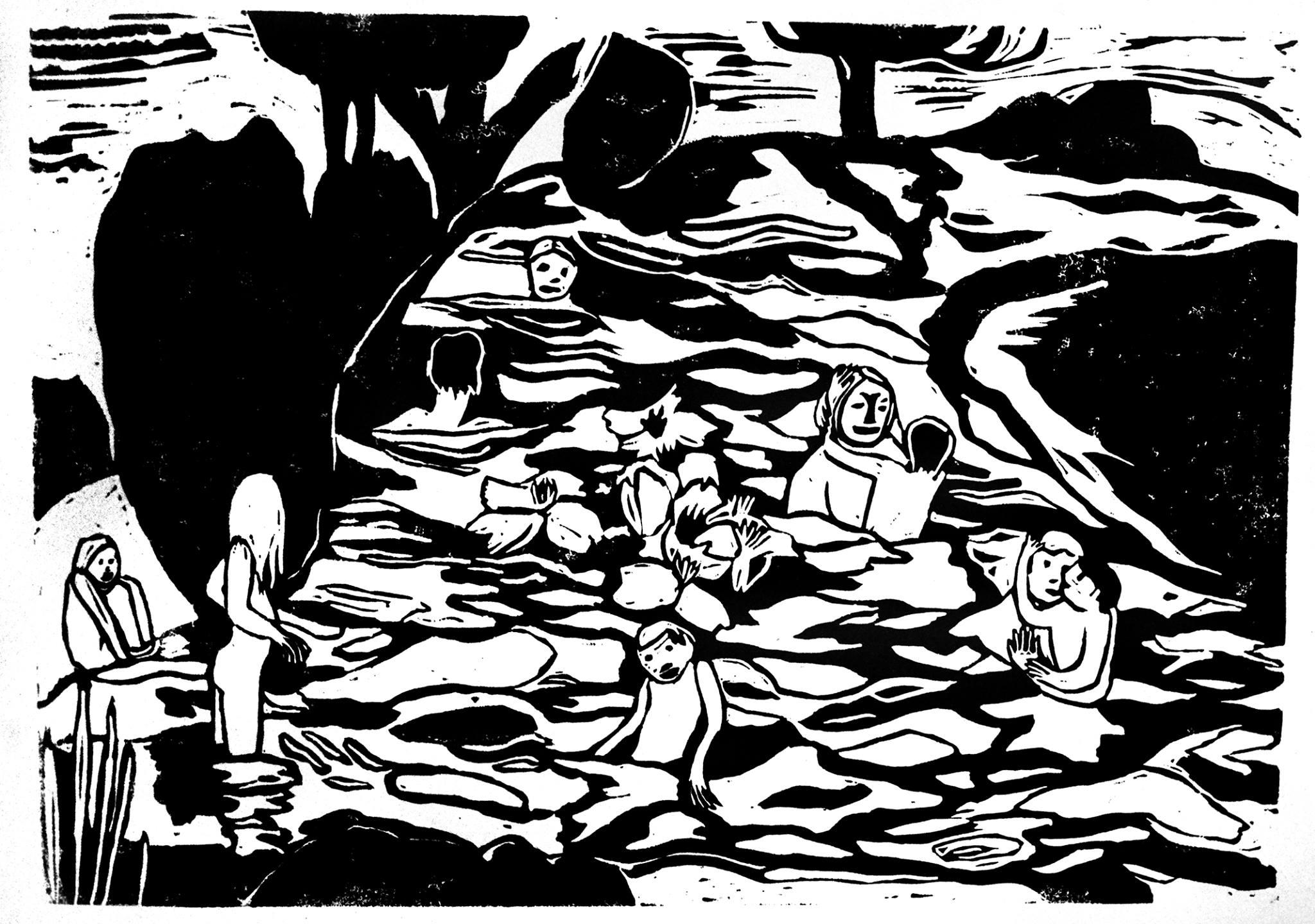 La rivière des morts