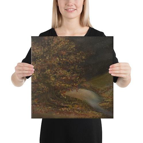 """Autumn Night"" Canvas Print [Multiple Sizes]"