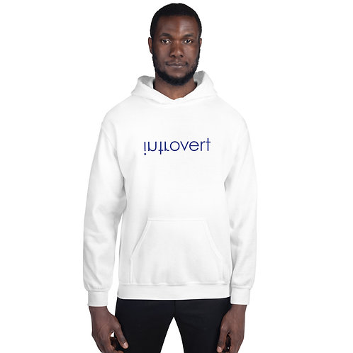 Introvert Embroidered Unisex Hoodie