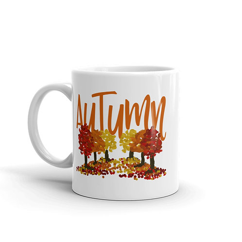 Autumn Trees Mug