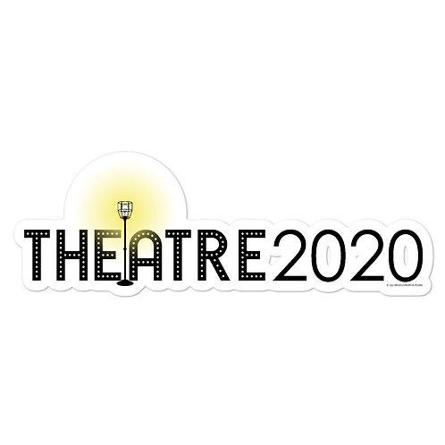 Theatre 2020 Ghost Light Memorial Stickers