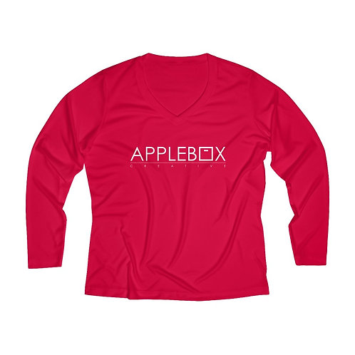 Applebox Creative Women's Long Sleeve Performance Tee