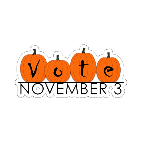 VOTE Pumpkins Kiss-Cut Stickers