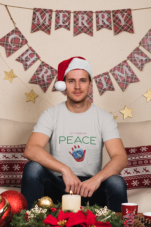"""""""Let There Be PEACE"""" Christmas Comfy Tee"""