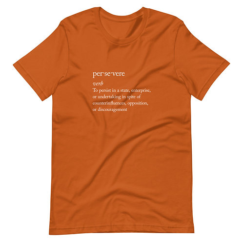 PERSEVERE Definition Tee