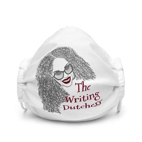 The Writing Dutchess Face Mask