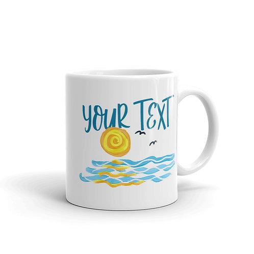PERSONALIZED Summer Sun Mug