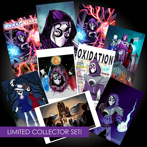 GOOD&EVILLE: Issue 0 Collector Set *ULTRA LIMITED*