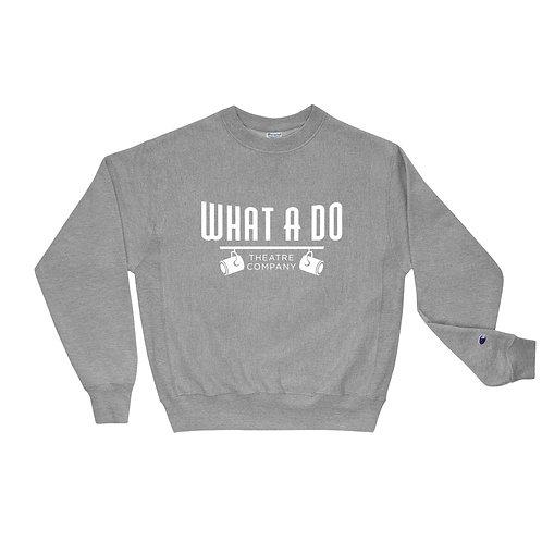 What A Do Logo Champion Sweatshirt
