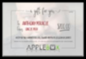 AppleBox Creative Gift Certificate 200 s