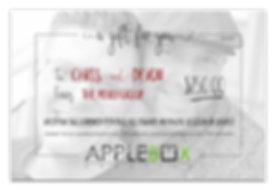 AppleBox Creative Gift Certificate 250 s