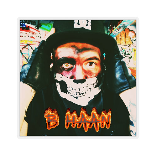 B HAAN Sticker