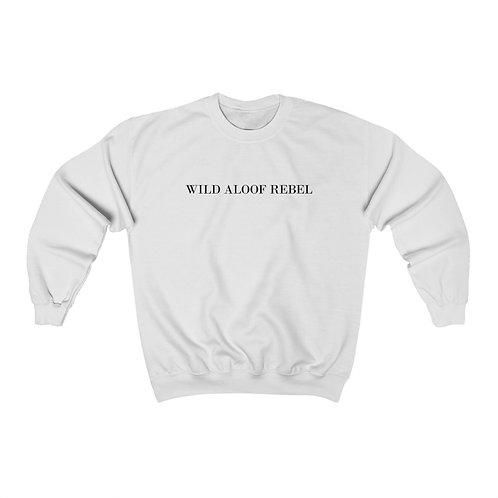 "David Rose ""WILD ALOOF REBEL"" Crewneck Sweatshirt"