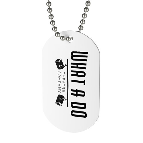 "What A Do Logo ""Dog"" Tag"