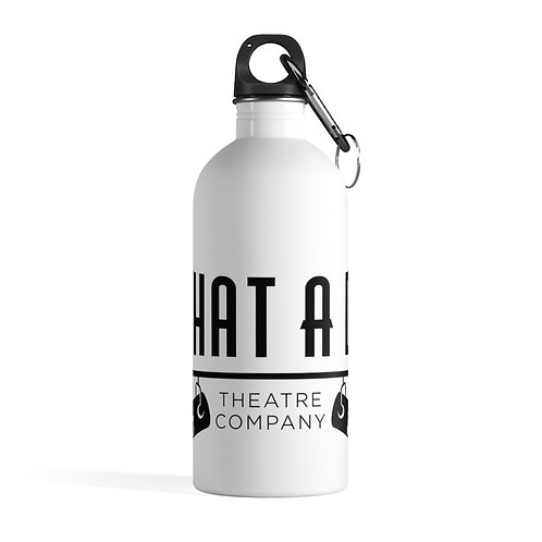 What A Do Logo Stainless Steel Water Bottle