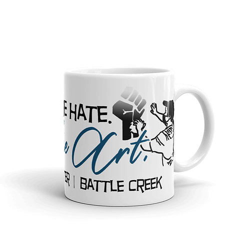 """Restore the Art"" Battle Creek Fundraiser Mug"