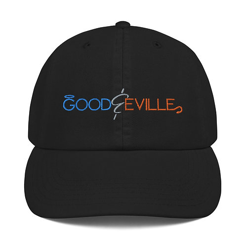"""Good and Eville"" Official Logo Champion Cap"