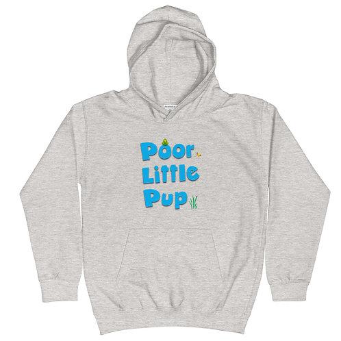 Poor Little Pup Kids Hoodie