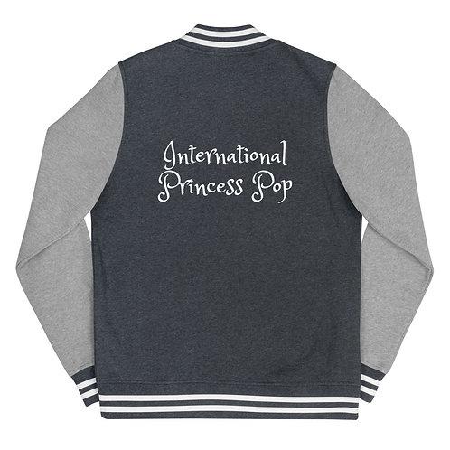 International Princess Pop Women's Letterman Jacket