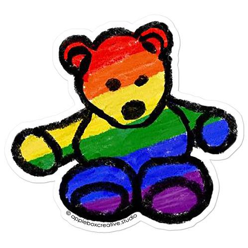 Pride Bear Stickers