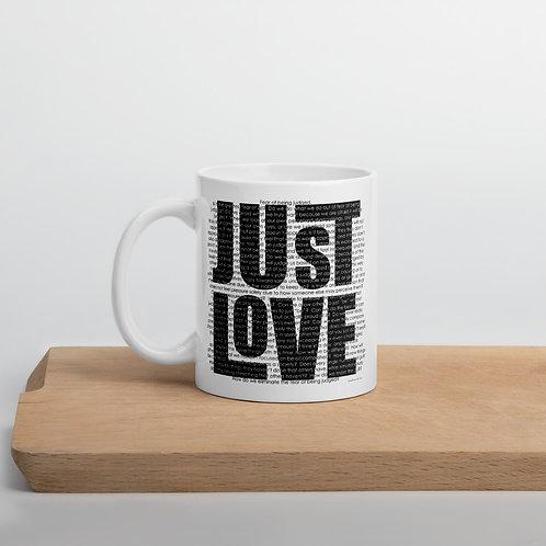 Just Love 11 oz. Mug