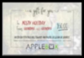 AppleBox Creative Gift Certificate 50 sa