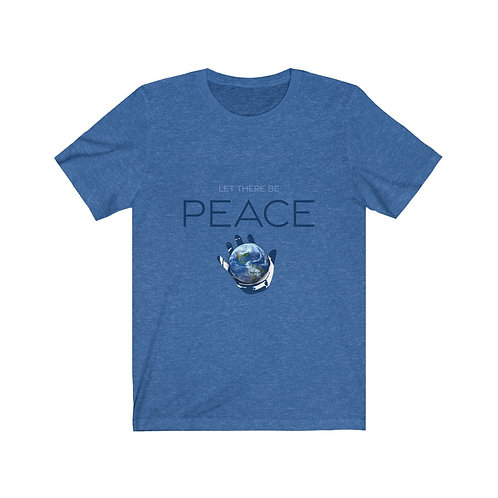 """""""Let There Be PEACE"""" Hanukkah Comfy Tee"""
