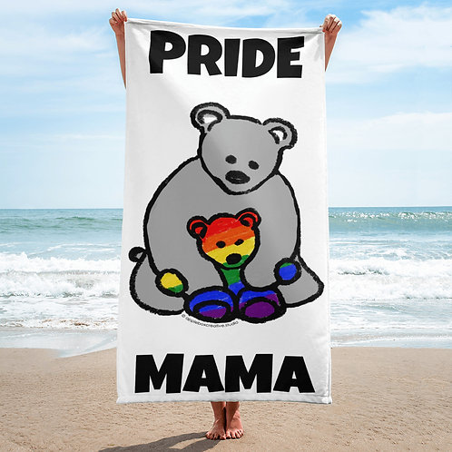 Pride Mama Beach Towel