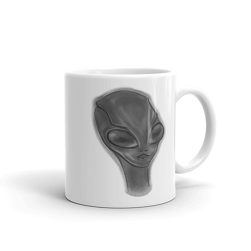 """You're out of this world"" Alien Mug"